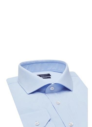 D'S Damat Gömlek Mavi